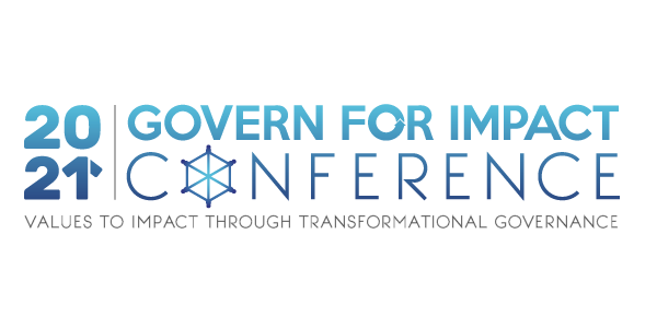 2021 Govern for Impact Annual Conference logo
